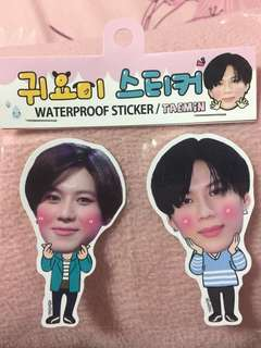 Lee Taemin waterproof sticker
