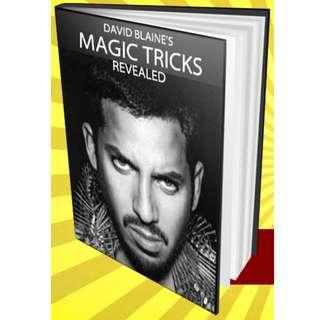 David Blaine's Magic Tricks Revealed! eBook