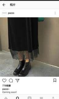 🚚 含運!Pazzo 天鵝絨黑色細肩帶連身裙