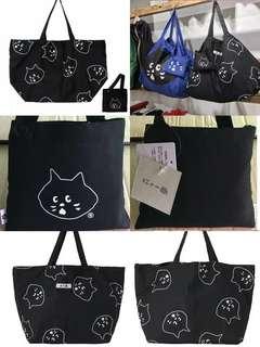 日本代購直送NE-NET NYA貓 購物袋 環保袋