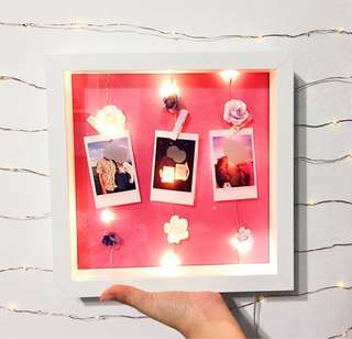 Photo light box gift