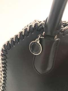 StellaMccartney Black Falabella Box Handbag