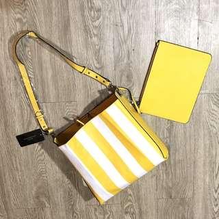 Original Zara Riversible Printed Bucketbag