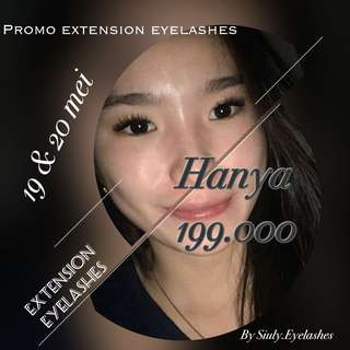 Extension eyelashes