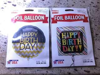生日佈置氣球 Birthday balloons