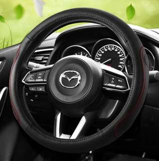 Mazda Stitches Steering Wheel Protector