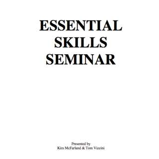 Essential Skills Seminar eBook