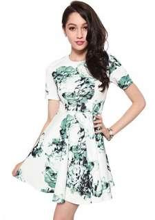 Love bonito Loretta flare dress