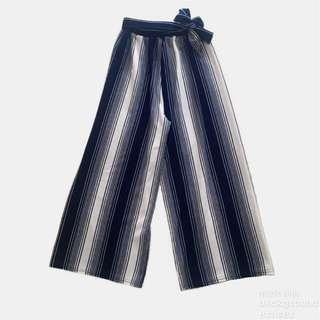 Blue striped square pants