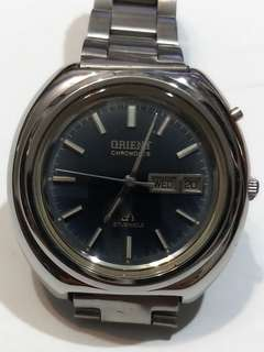 ORIENT CHRONOACE Automatic Watch Bezel 40mm 27 jewels