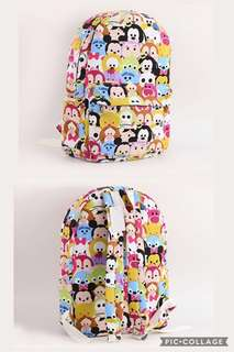 BN Tsum Tsum backpack bag