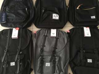 Assortment of Herschel Bags (Cheapest & Authentic)