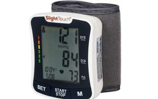 [IN-STOCK] Slight Touch Fully Automatic Wrist Digital Blood Pressure Cuff Monitor ST-501