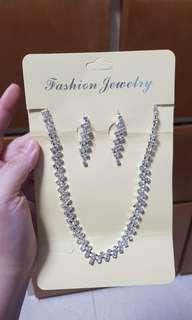 Artificical Diamond Necklace set