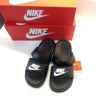 全新 Nike 拖鞋 Wmns Benassi Duo Ultra Slide 黑款/雙帶 女鞋