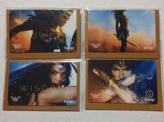 Wonder Woman Beep Cards Set