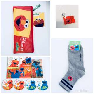 BN Limited Edition Elmo Accessories