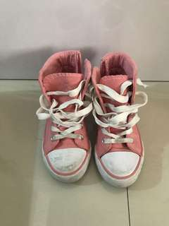 Kids Zippy Hi Cut Sneakers