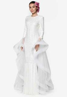 RENT RIZALMAN HYACINTH DRESS BRIDAL M