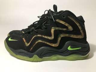 Nike 運動鞋 籃球鞋 迷彩 黑 us11