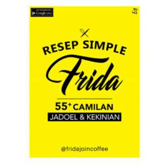 Ebook Resep Simple Frida - fridajoincoffee