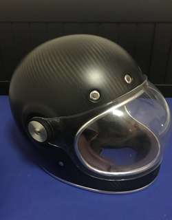 Bell retro carbon fibres full face helmet