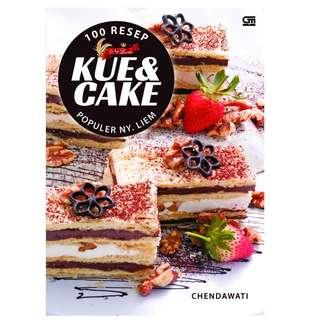Ebook 100 Resep Kue &  Cake Populer Ny. Liem - Chendawati