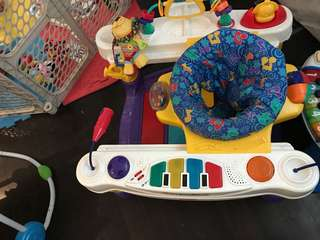 Fisher price piano exerciser