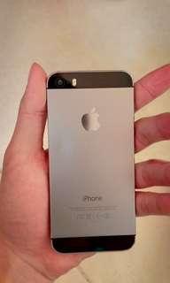 Dijual cepat&murah iphone 5s 16gb space grey fullset ex ibox