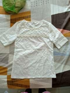 Korean Lace Blouse Top