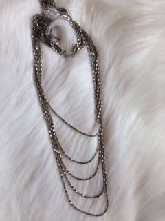 🙈layered necklace