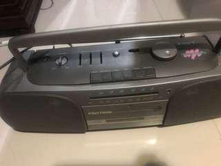 Radio tape plytron