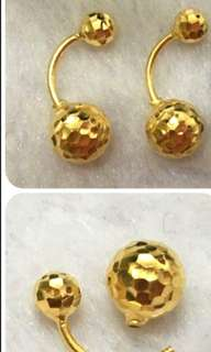 916 Gold Earring type 👉Readystock👈