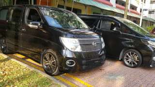 5-8seater Cars for Rental