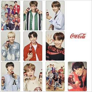 BTS CRYSTAL STICKER SET
