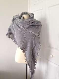 Diamond Mosaic Triangle scarf