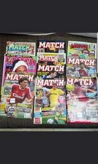 Match magazines