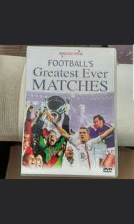 Football Greatest Ever Matches DVD