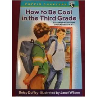 HOW TO BE COOL IN THIRD GRADE ~ Brand New