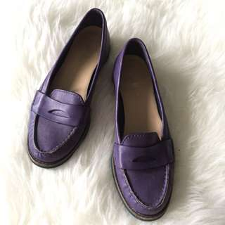 Cole Haan Purple Loafer Size 6