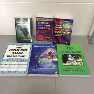 Thai Language Books and Dictionaries