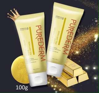 PUREDERM LUXURY THERAPY GOLD PEEL OFF MASK 100g