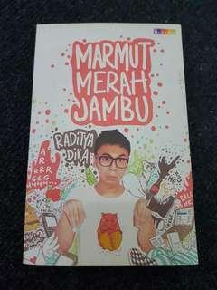 Buku Novel Marmut Merah Jambu