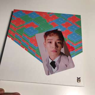 EXO CHEN - BLOOMING DAYS PHOTOCARD