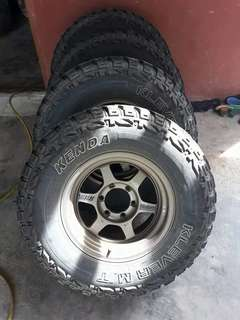 Triton,Hilux,Ford Mt tyre