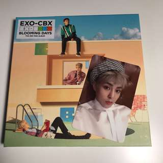 EXO XIUMIN  - BLOOMING DAYS OFFICIAL PHOTOCARD