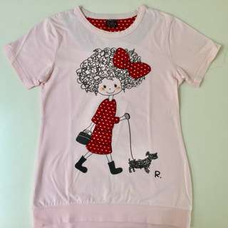 Girls Size 9 Adorable T Shirt