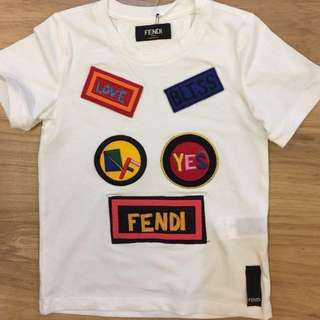 🆕👦🏻🧒🏻SALE🎉🛍 Authentic FENDI Tee for Age 2, 4 & 6 years old #midmay75
