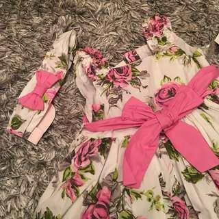 UK brand Maggie&Zoe kids dress Raya