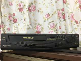 Antique and vintage Video player (panasonic)